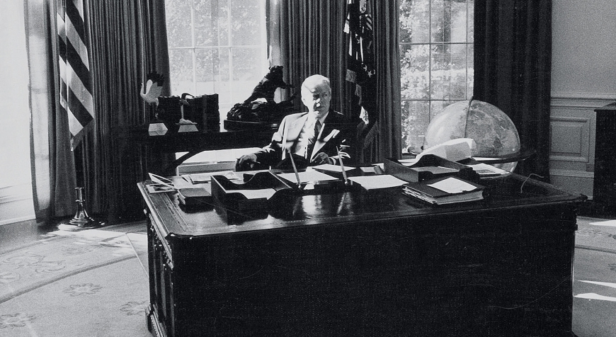 Gianfranco Gorgoni, The Oval Office (Jimmy Carter) Washington D.C., 1978